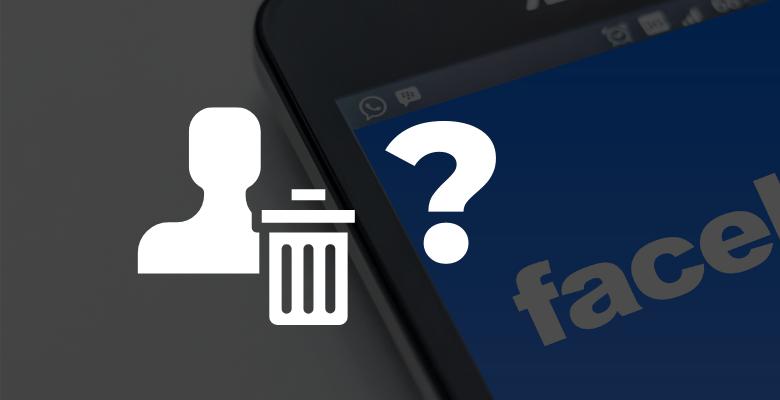 Jak usunąć konto na fb