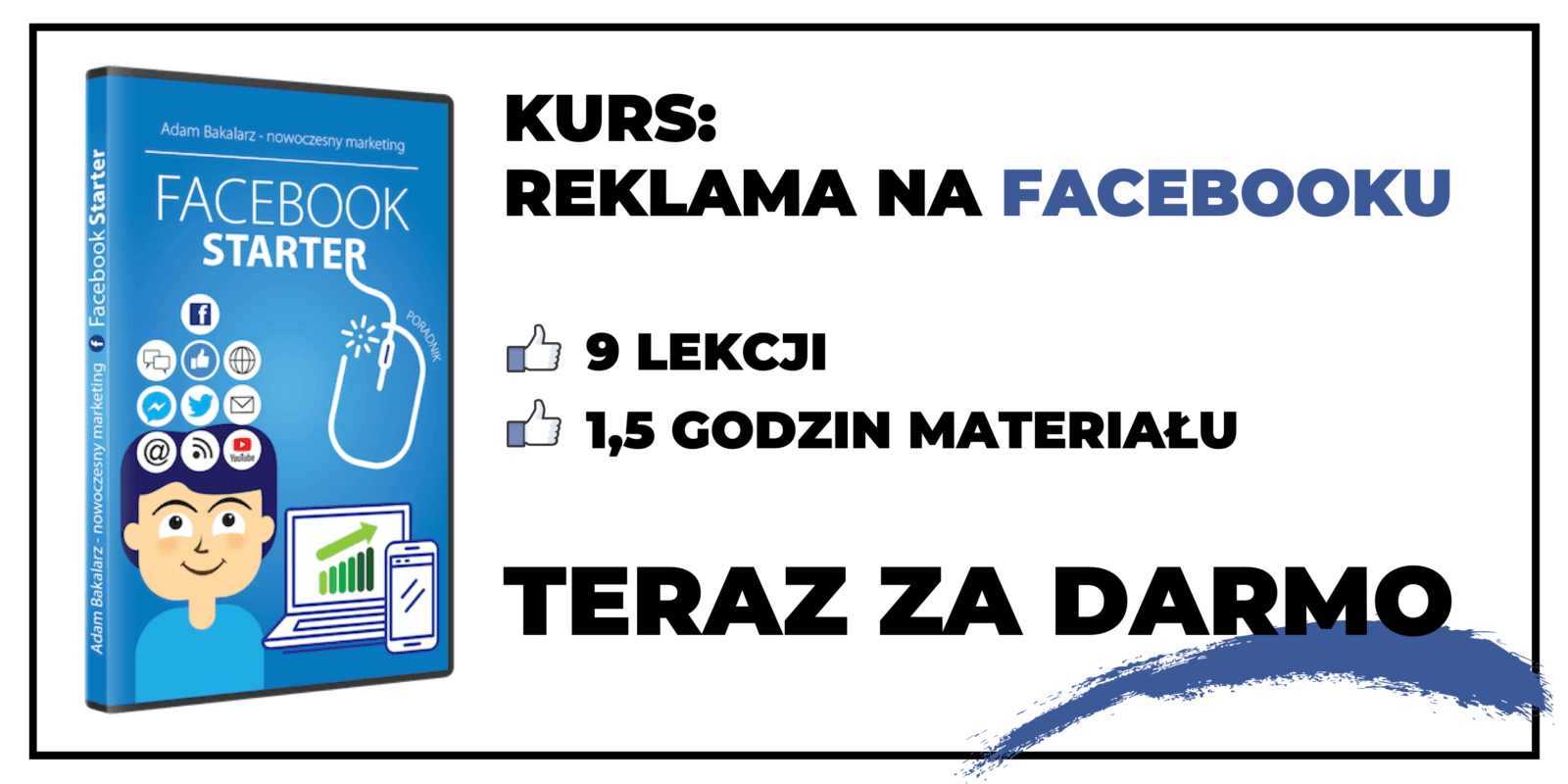 Kurs reklama na facebooku - Facebook Starter