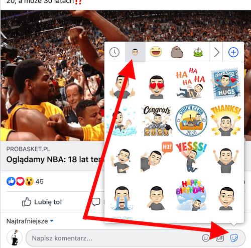 Dodawanie avatara Facebooka z komputera
