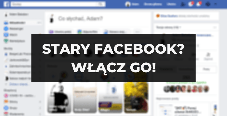 Stary Facebook